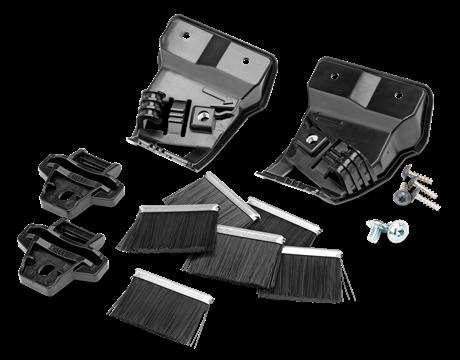 Комплект колесных щеток 6 шт и 2 держателя (320 / 330 X / 420 / 430X)